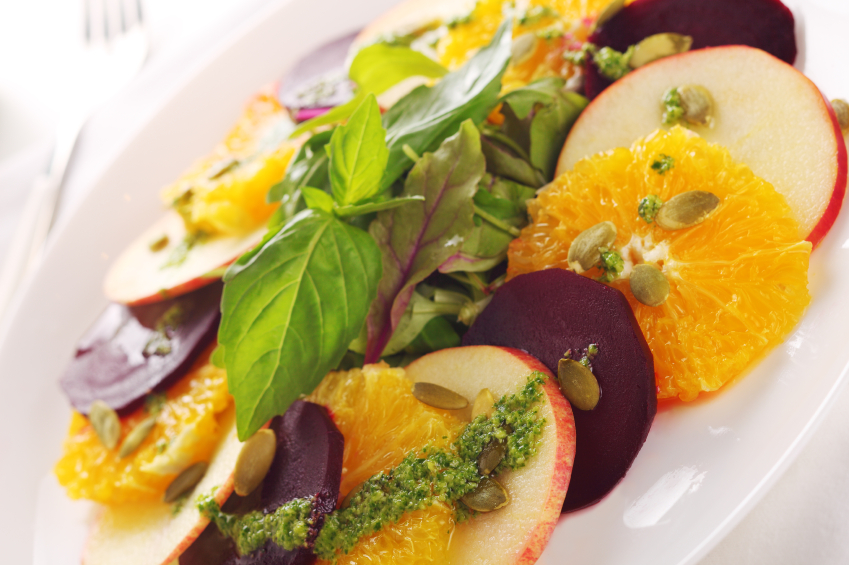 Medicinal Beet Salad To Help You Make Bile, Digest Your Fats, and Cure Heartburn