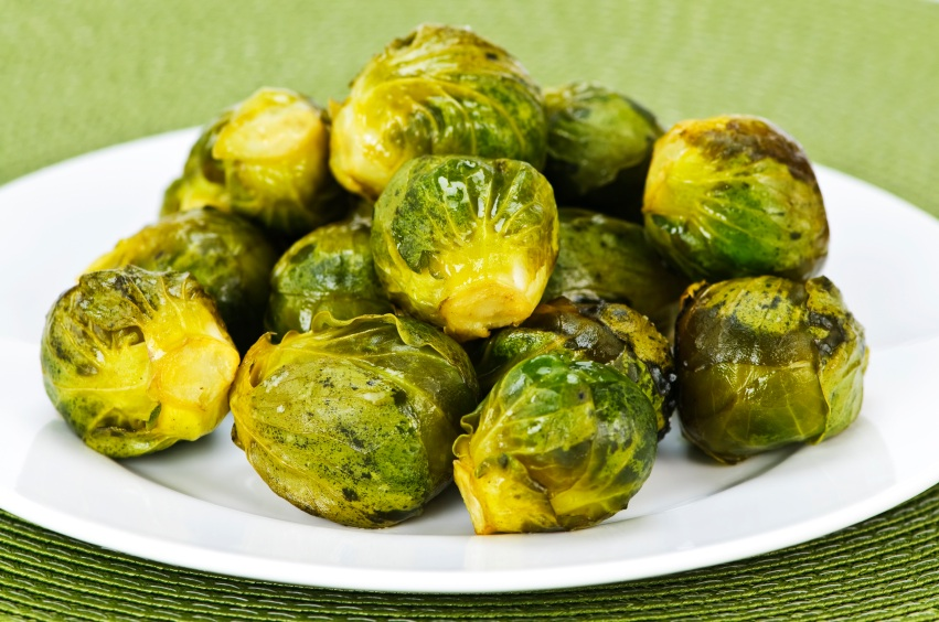 Apple Cider Brussel Sprouts