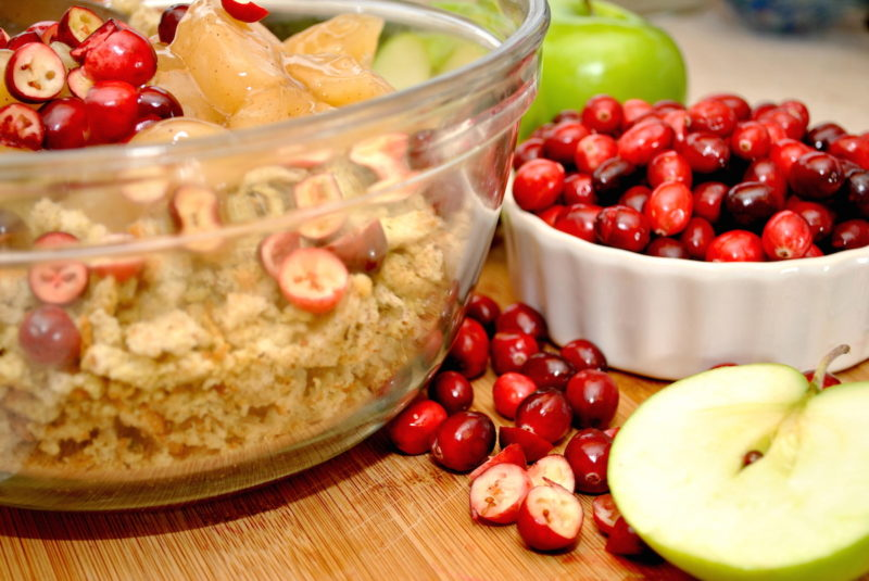 Apple-Cranberry Grain-Free Stuffing