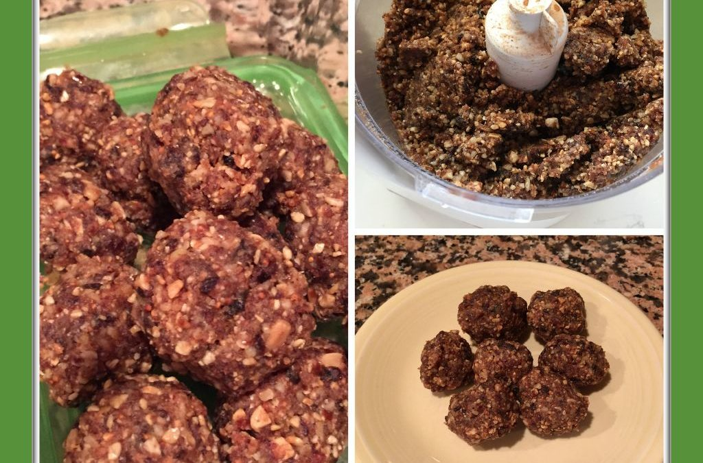 No Bake, High Octane Energy Balls!