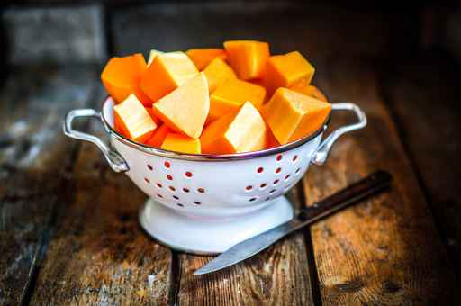 Roasted Butternut Squash with Cinnamon