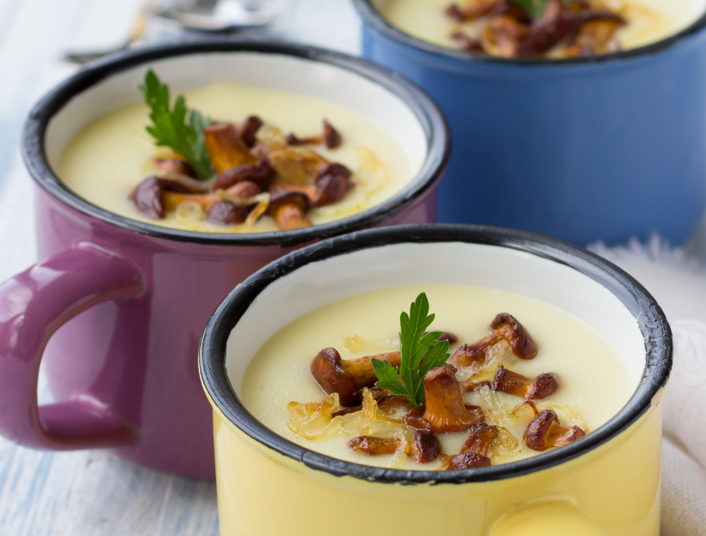 Dairy Free Potato Leek Soup