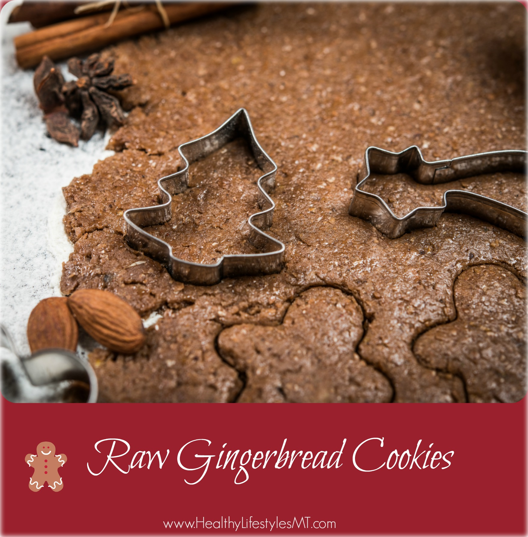 Raw Gingerbread Cookies